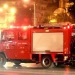Φωτιά σε γραφείο στη Μανωλάκη