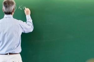 Μαθηματικός παραδίδει μαθήματα