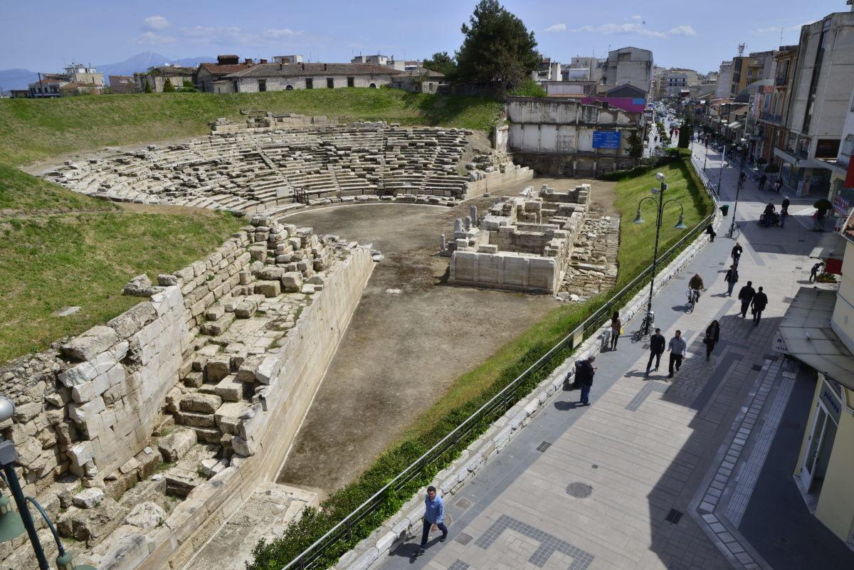 Σε ποιο σημείο βρίσκονται Αρχαίο Θέατρο, Στρατόπεδα, Αβερώφειος
