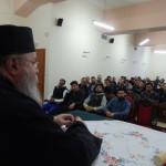 Ο Καθηγούμενος της Ι.Μ.Ταξιαρχών Αιγιαλείας μίλησε στους νέους του Αγ.Αχιλλίου