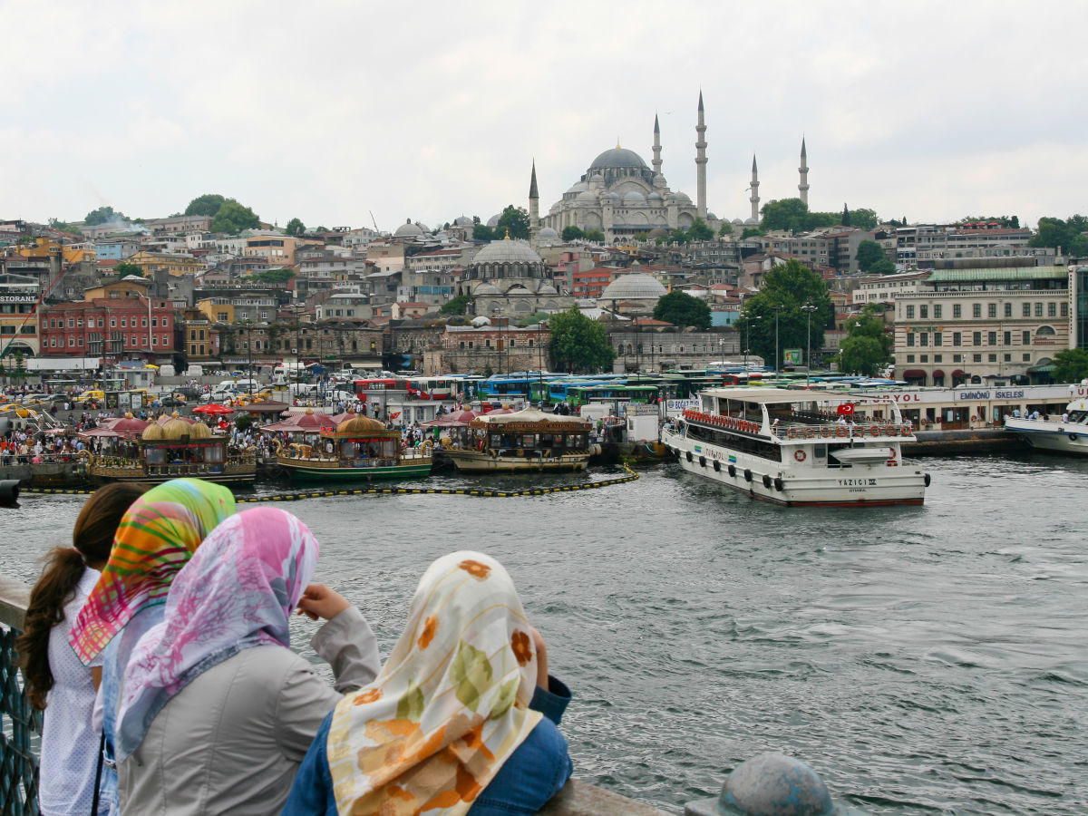 Πρόσωπα, στιγμές και γωνιές της σύγχρονης Κωνσταντινούπολης