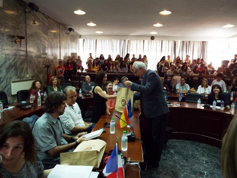 Στο Δημαρχείο μαθητές από κράτη της Ευρώπης