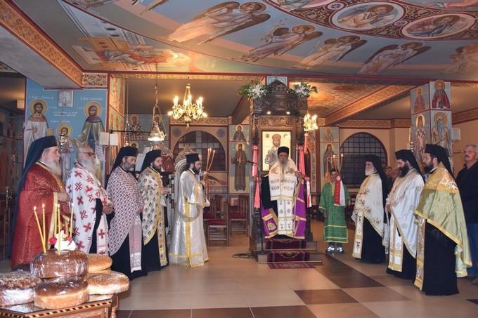 Γιορτάστηκε η μνήμη της Αγίας Ειρήνης στη Χαραυγή