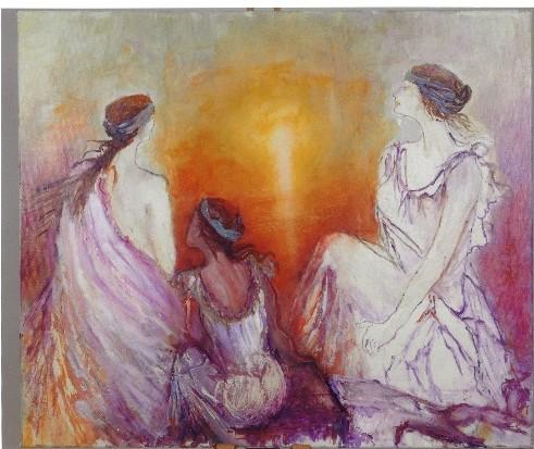 Έκθεση ζωγραφικής της Ελ. Δεληπάσχου