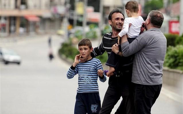 «Φωτιά» στην ΠΓΔΜ με αιματηρές συμπλοκές στο Κουμάνοβο