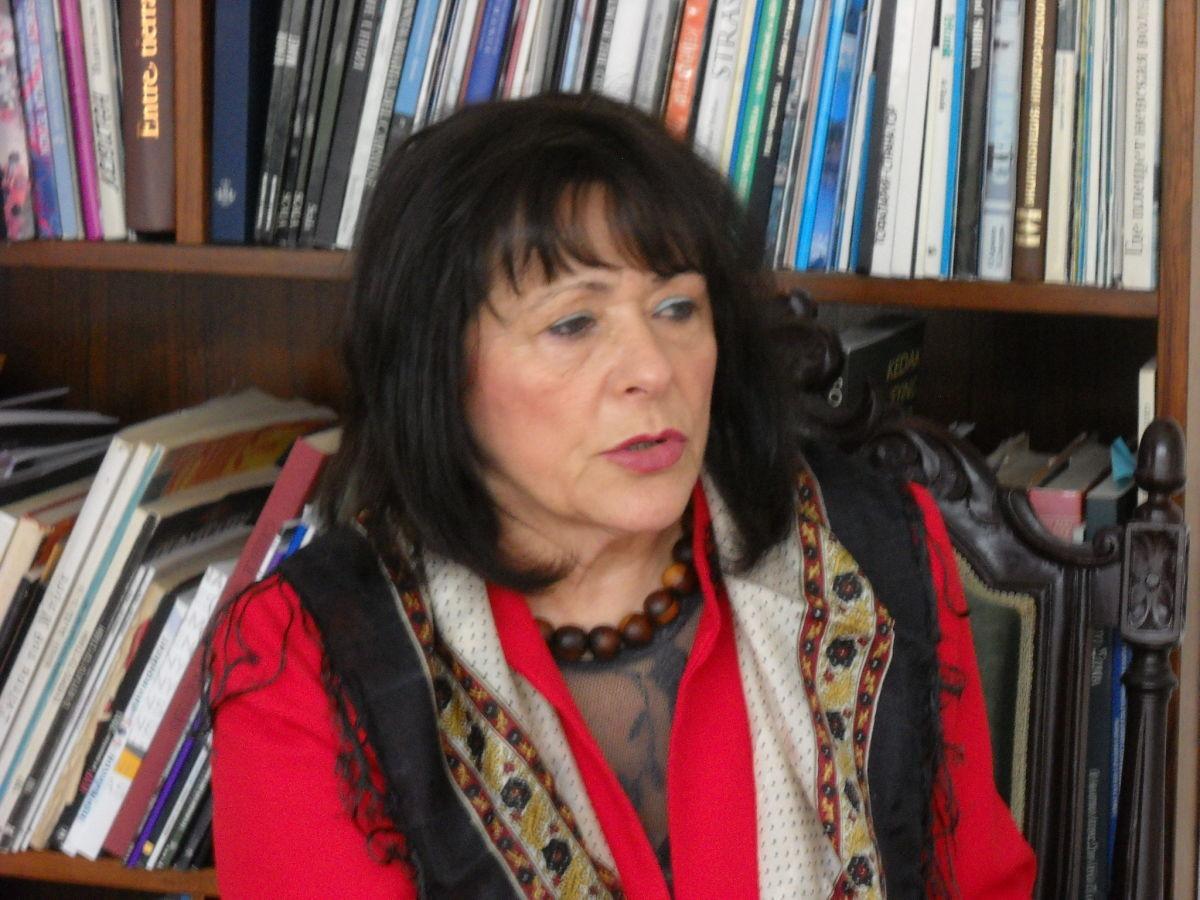 Η Καθηγήτρια Πανεπιστημίου, Γ. Λαδογιάννη στη Λάρισα
