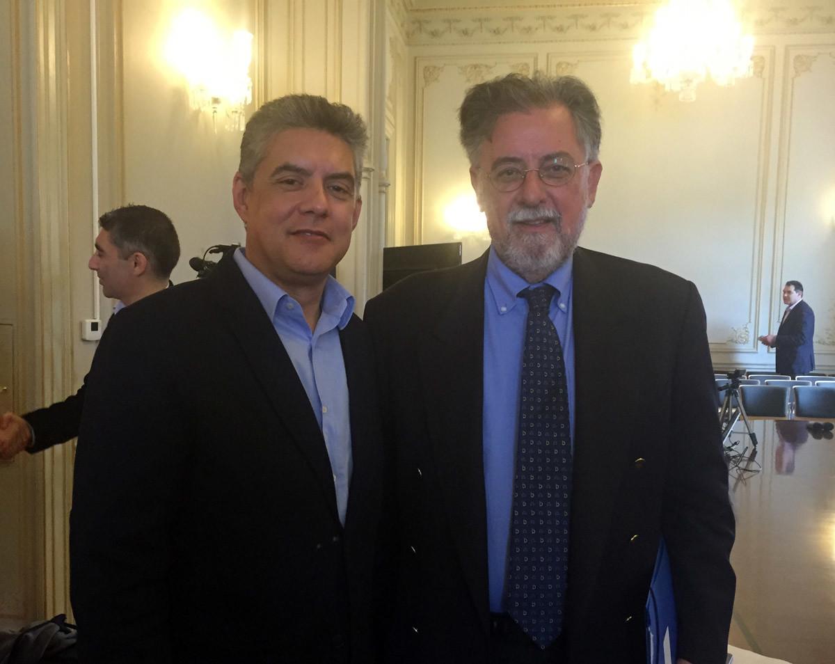 Στην Αθήνα συναντήθηκαν Γ. Πανούσης με Κ. Αγοραστό