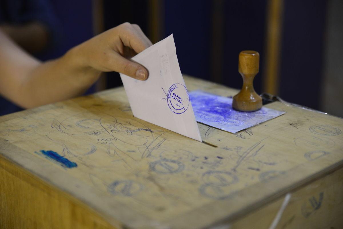 Στιγμιότυπα από τις φοιτητικές εκλογές στο ΤΕΙ (ΦΩΤΟ)