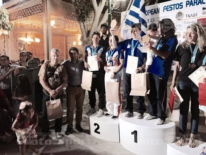 Διακρίσεις στο Ευρωπαϊκό Κυπέλλο Ποδηλασίας αθλητών με αναπηρίες