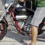 Οδηγούσε κλεμμένη μοτοσικλέτα στη Λάρισα