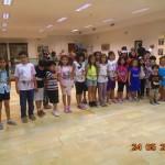 Γονείς και παιδιά κατασκεύασαν ζώνες στο Λαογραφικό Μουσείο