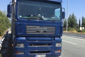 «Στοπ» στα φορτηγά στα Τρίκαλα