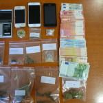 Ποσότητες ναρκωτικών στο σπίτι 43χρονου (ΦΩΤΟ)