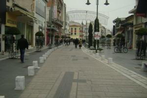 Δράση ευαισθητοποίησης μπροστά στο Αρχαίο Θέατρο Λάρισας