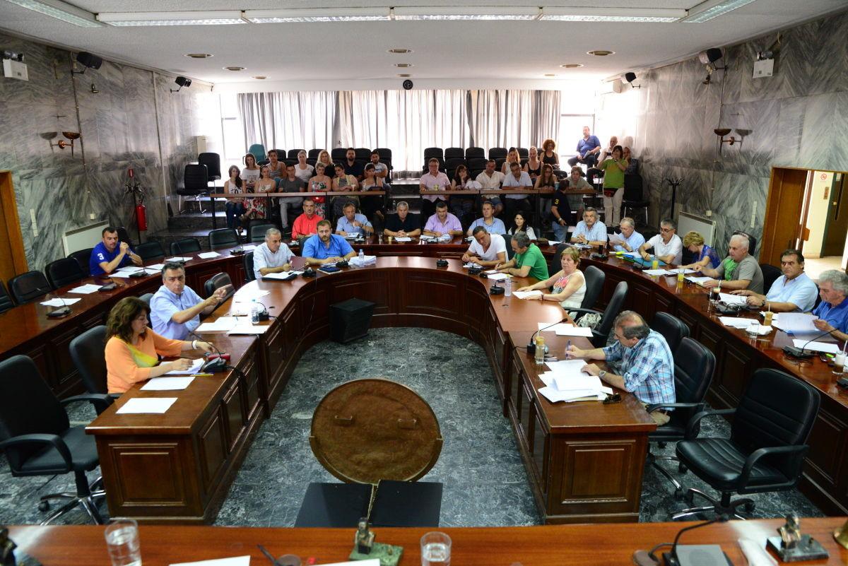 Έκτακτη συνεδρίαση του Δημοτικού Συμβουλίου Δ. Λαρισαίων