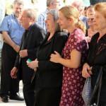 Θρήνος στην κηδεία της κόρης του Στέλιου Παπαθεμελή