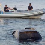 «'Αγιο» είχε οδηγός – Έπεσε με το ΙΧ σε γκρεμό και μετά στη θάλασσα