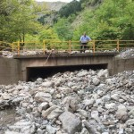 Μεγάλες ζημιές από ισχυρές βροχές στα ορεινά των Τρικάλων (ΦΩΤΟ)
