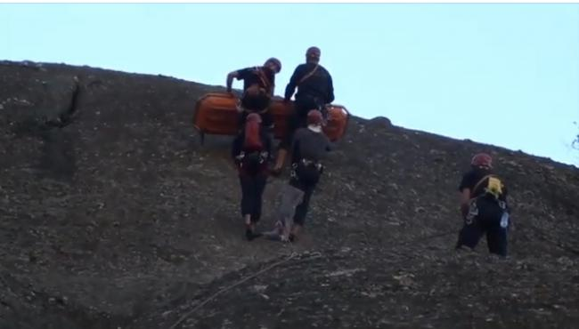 Σε εξέλιξη η επιχείρηση για τον ορειβάτη στον Όλυμπο