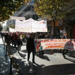 Μηχανοκίνητη πορεία στον Ιπποκράτη για την απεργία