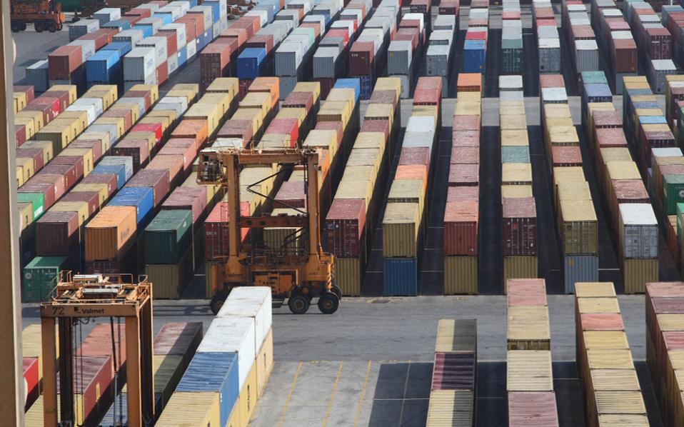 Πρόβλεψη για αύξηση 8%-10% στις ελληνικές εξαγωγές