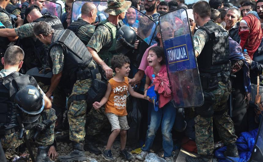 Νέα κινητοποίηση μεταναστών από τον καταυλισμό της Μόριας