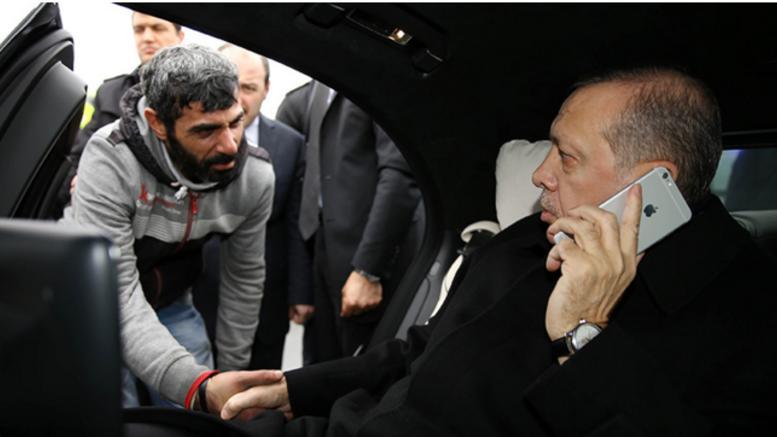 Με το ζόρι ο Ερντογάν μπήκε στα τηλέφωνα των Τούρκων…