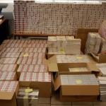 Εντοπίστηκαν 28.000 κούτες με λαθραία τσιγάρα