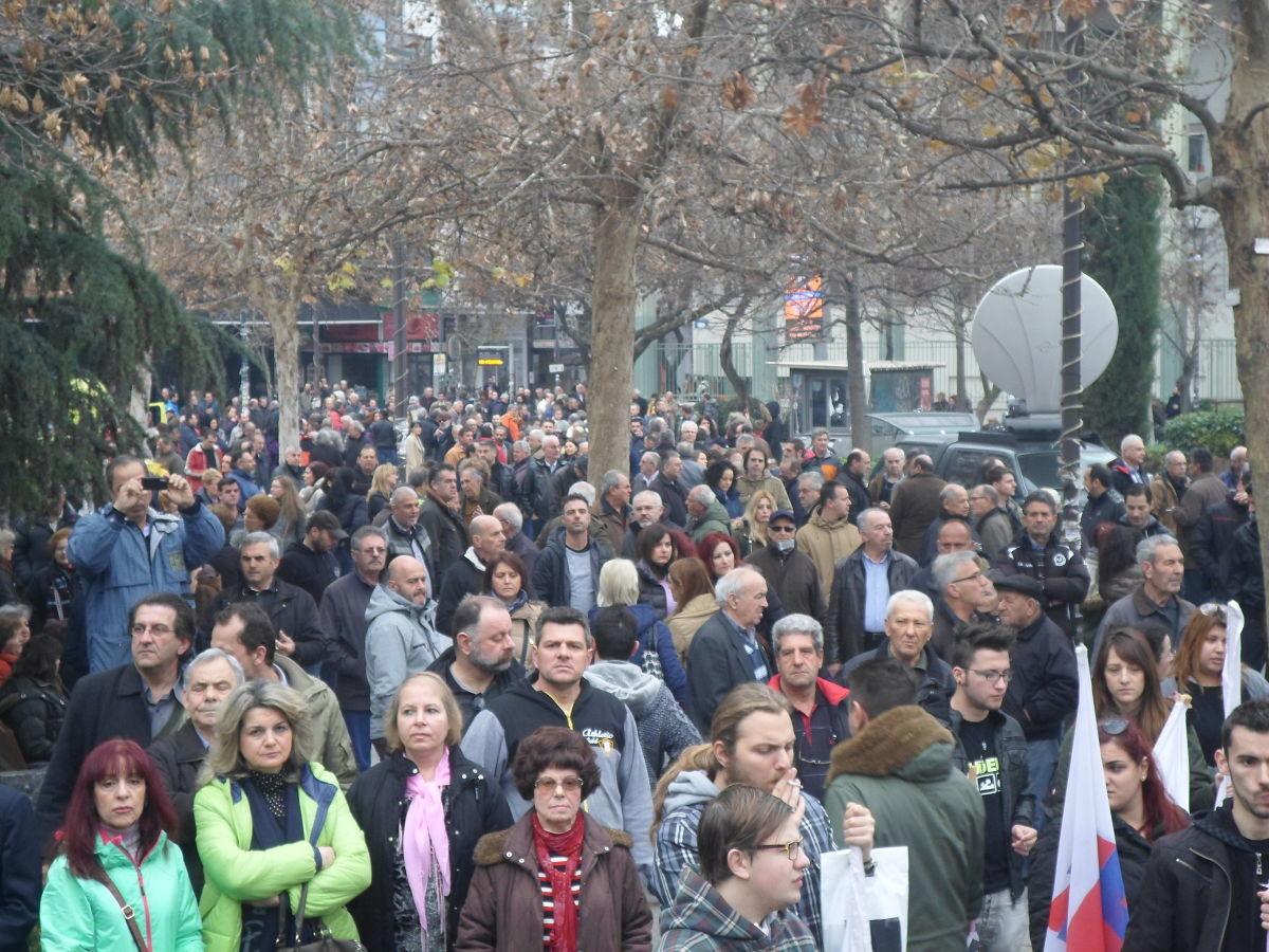 «Όλοι στην διαδήλωση μπροστά από το Αρχαίο Θέατρο»