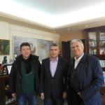 Με Κ. Αγοραστό συναντήθηκε ο Γ. Δημαράς