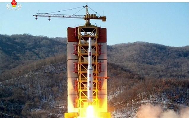 Bαλλιστικό πύραυλο εκτόξευσε η Βόρεια Κορέα