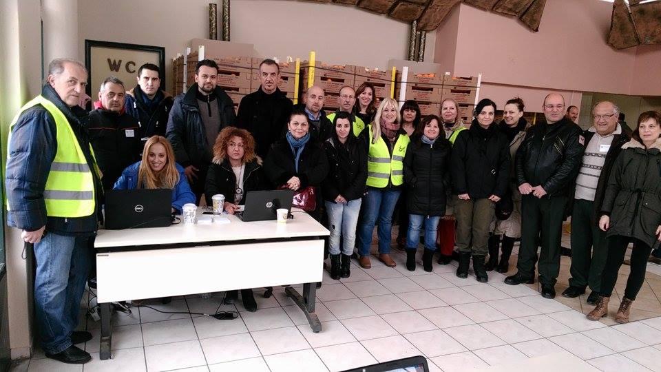 Διανομή τροφίμων απο αύριο στη Σκεπαστή της Νεάπολης