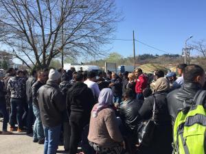Πρόσφυγες στο «Φρούριο» των Τρικάλων