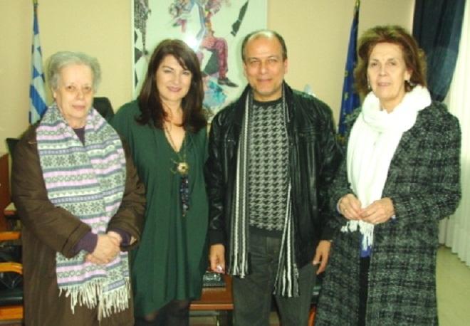 Επίσκεψη στη Διευθύντρια ΠΕ Θεσσαλίας