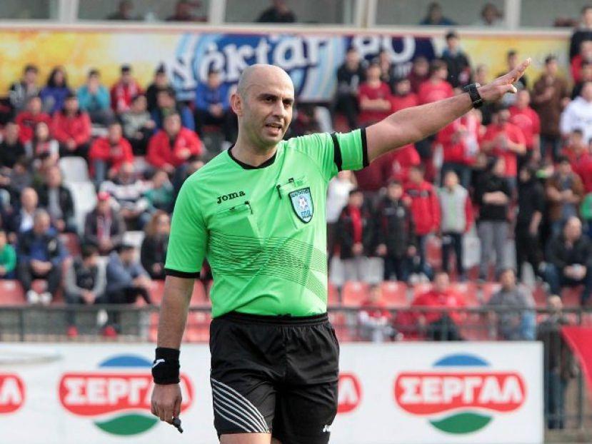 Ο Φωτιάδης στο AEL FC ARENA
