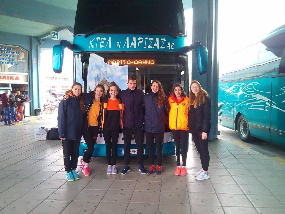 Αθλητές του ΝΟΛ στους Χειμερινούς Αγώνες