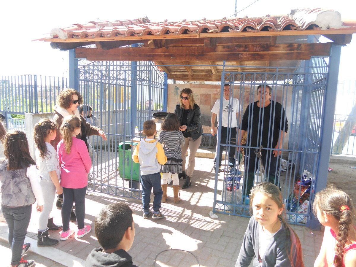 «Τσίκνισαν» στο 11ο Δημοτικό Σχολείο Λάρισας