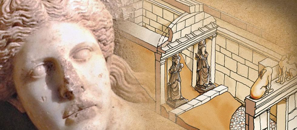 Ανακαλύφθηκαν νέα ευρήματα στον τάφο