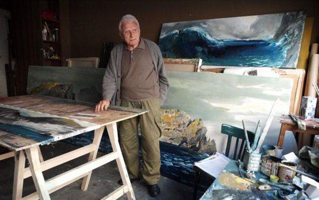 «Έφυγε» ο ζωγράφος Παναγιώτης Τέτσης