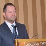 Στο Τμήμα Διοίκησης Επιχειρήσεων του ΤΕΙ Θεσσαλίας μίλησε η Αχιλ. Νταβέλης