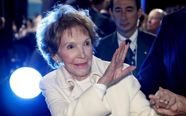 Πέθανε η Νάνσι Ρίγκαν