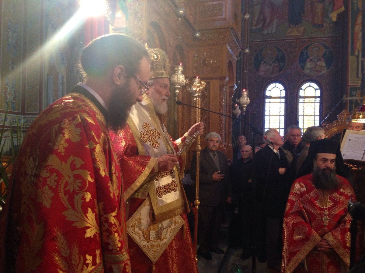 Τιμήθηκαν οι Άγιοι Τεσσαράκοντες Μάρτυρες