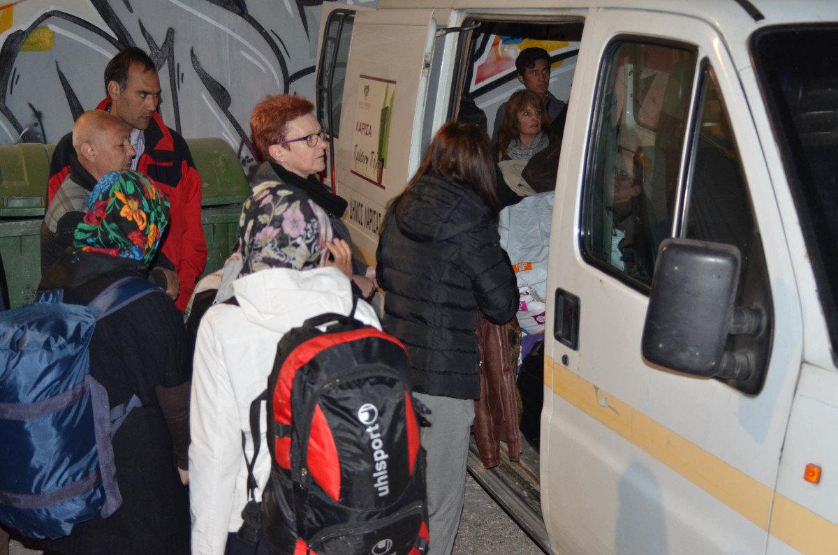 Δ. Λαρισαίων: Κάλεσμα για είδη που έχουν ανάγκη οι πρόσφυγες