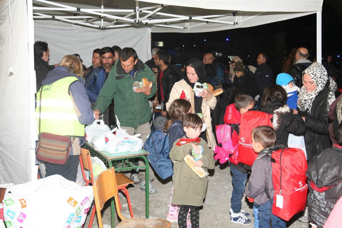 Η ΑΕΛ κοντά στα προσφυγόπουλα