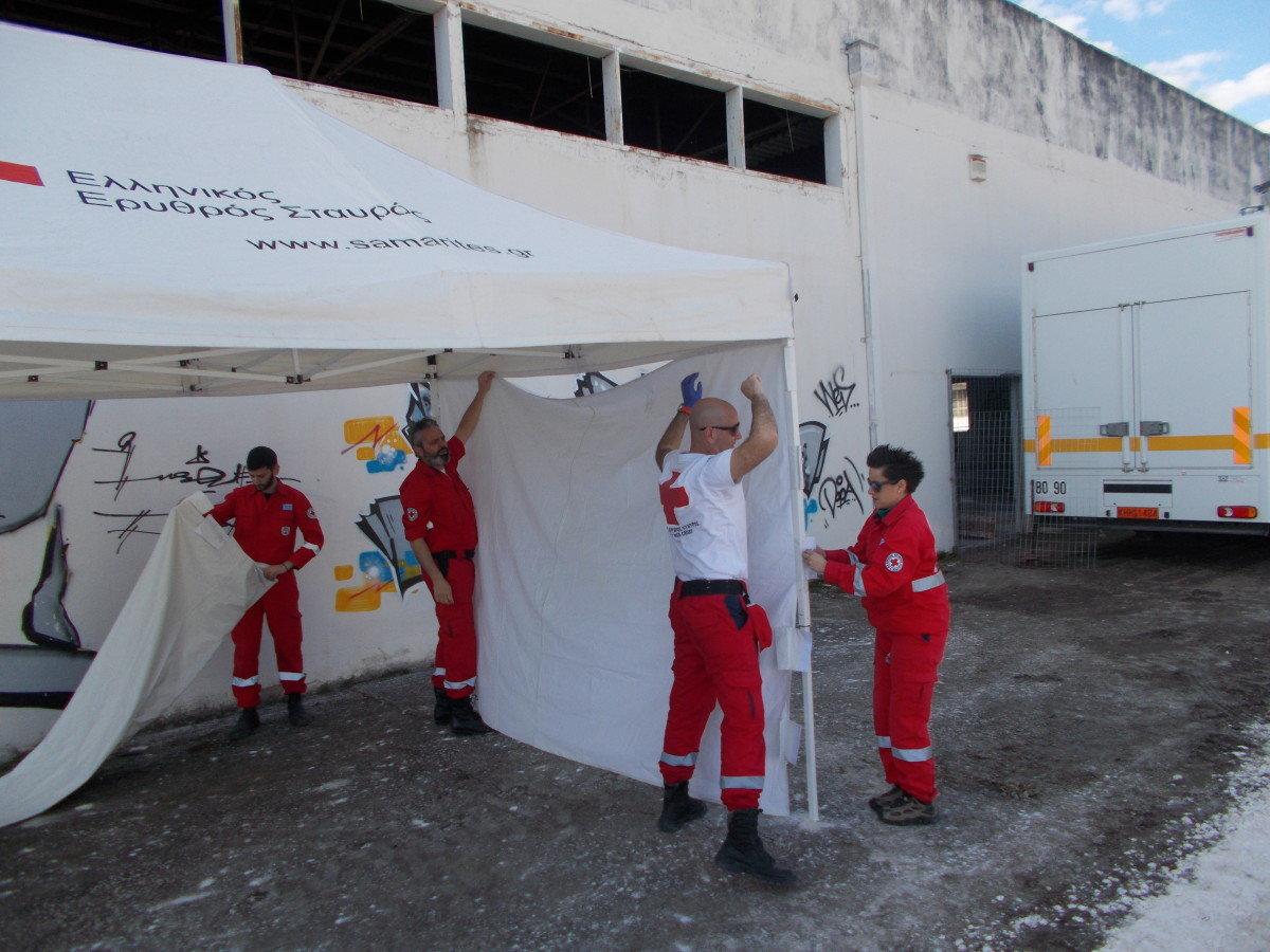 Στη «ΡΟΚΑ» οι Λαρισαίοι του Ερυθρού Σταυρού (ΦΩΤΟ)