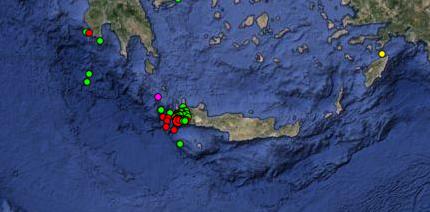 Kρήτη: Νέα σεισμική δόνηση