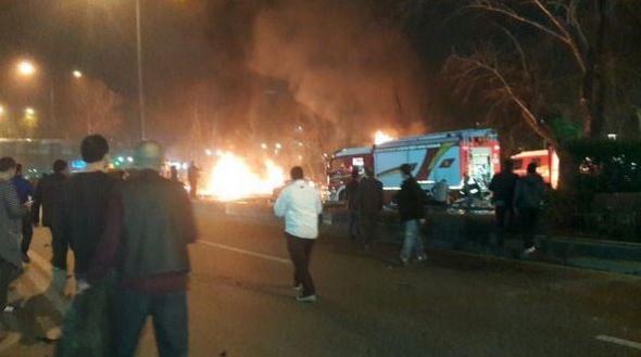 Νεκροί και τραυματίες από την έκρηξη στην Άγκυρα