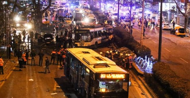 Νέο μακελειό στην Άγκυρα με 34 νεκρούς και 125 τραυματίες