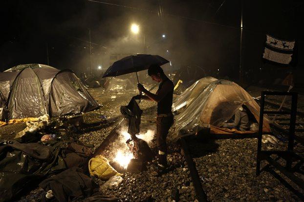 Εφιαλτικές συνθήκες στην Ειδομένη