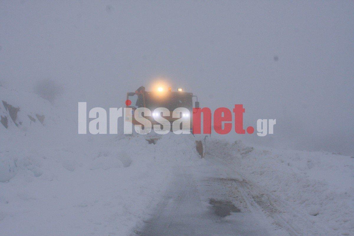 Ραγδαία επιδείνωση του καιρού και πυκνές χιονοπτώσεις